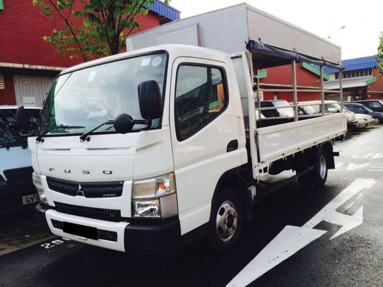 Mitsubishi Fuso 14ft canopy lorry - 2015 model