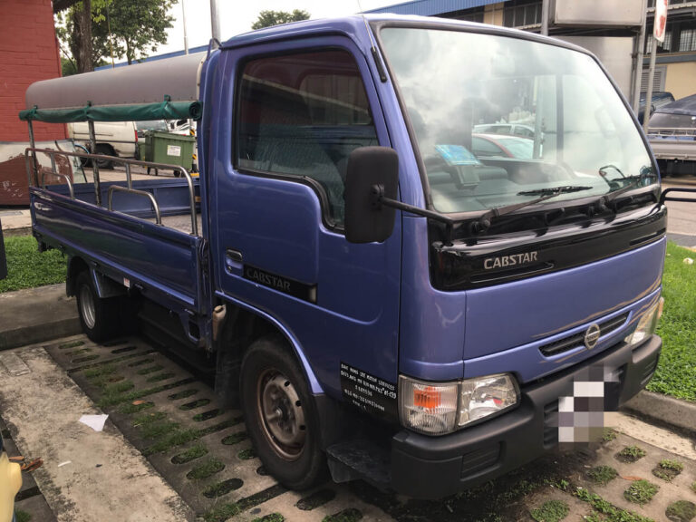 Nissan Cabstar - 10ft canopy lorry