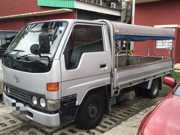 Toyota Dyna - 10ft canopy lorry