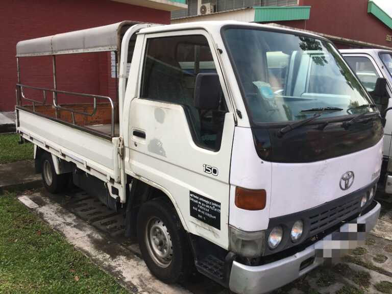 Toyota Dyna - 10ft half or full canopy lorry