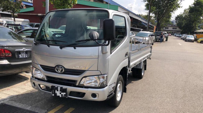 Toyota Dyna 10ft open Lorry - 2018 model