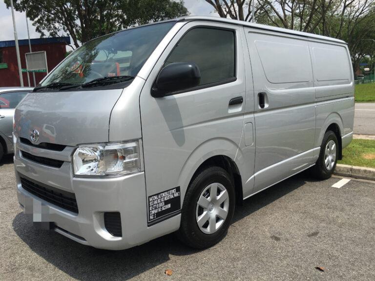 Toyota Hiace - 2018 model