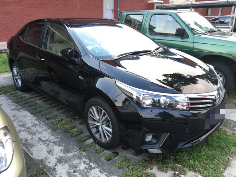 Toyota Vios (2015 model)